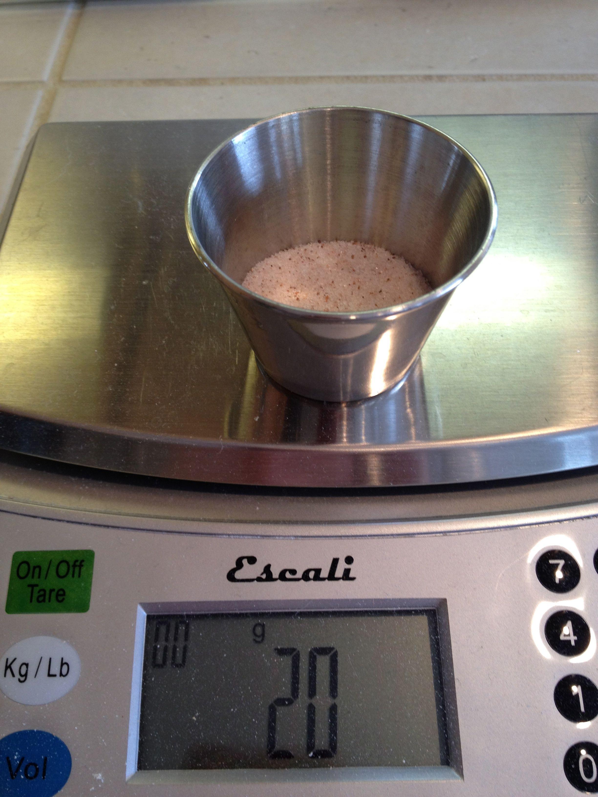 20 gram salt