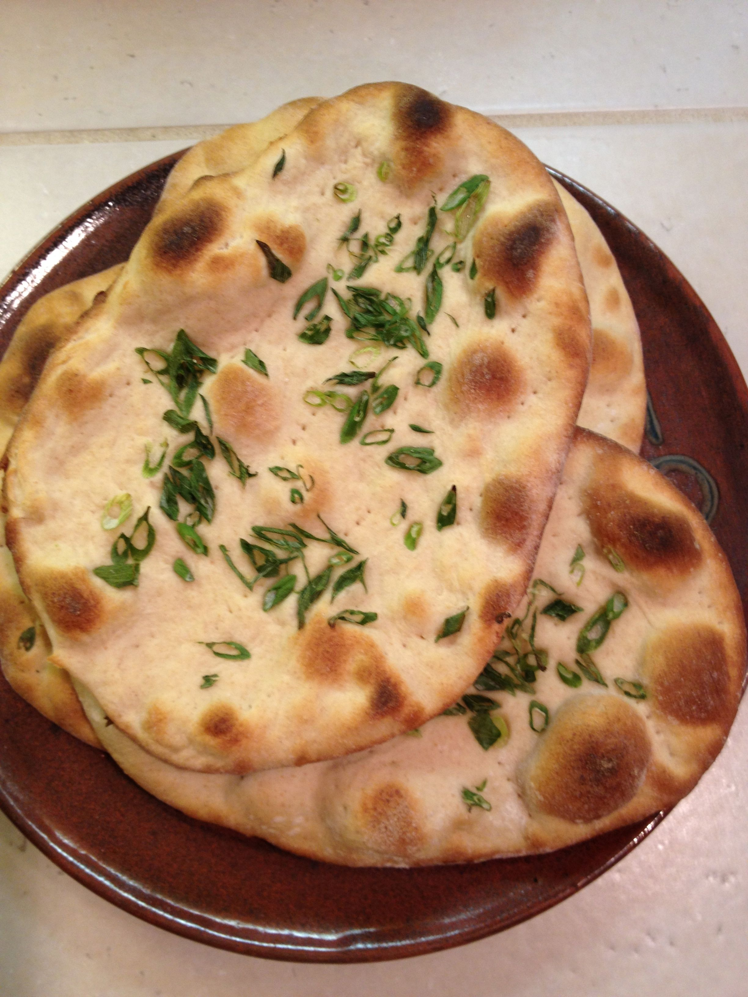 naan and Indian comfort food | cook reach grow